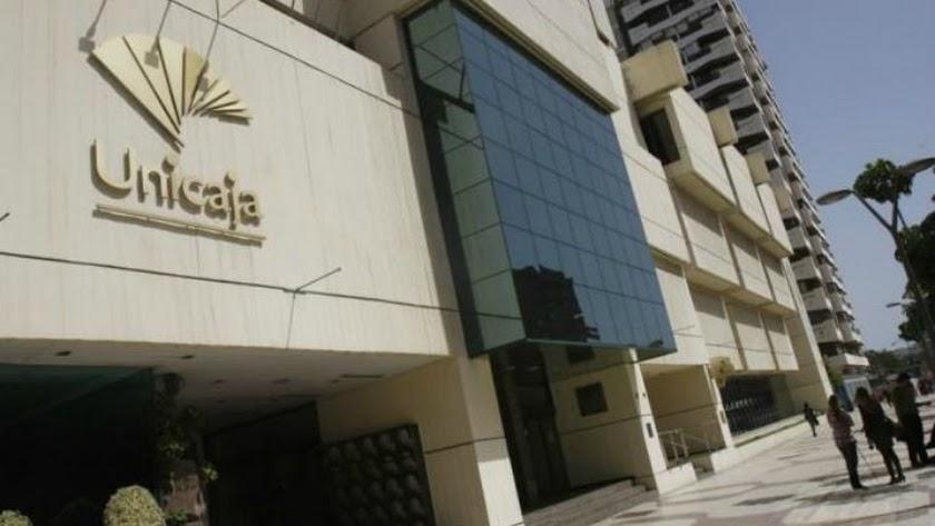 Sede central del Grupo Unicaja Banco ubicada en Málaga