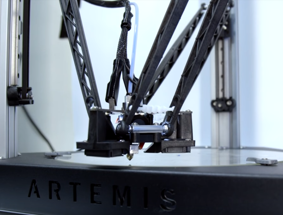 The Artemis 300 Delta 3D Printer