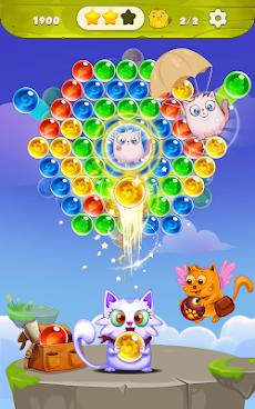 バブルシューター:無料猫ポップゲーム2019のおすすめ画像2