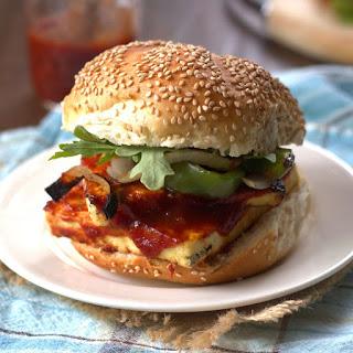 Maple Whiskey Barbecue Tofu Sandwiches Recipe