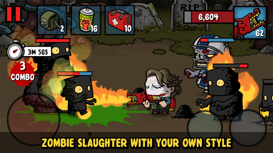 Zombie Age 3 Mod Apk 1.7.1  Latest (Unlimited Money + Ammo) 2