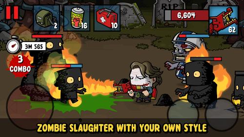 Screenshot 2 Zombie Age 3: Shooting Walking Zombie: Dead City 1.3.0 APK MOD