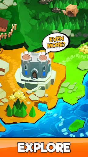 Code Triche Idle Miner Kingdom - Simulateur de Fantasy RPG apk mod screenshots 4