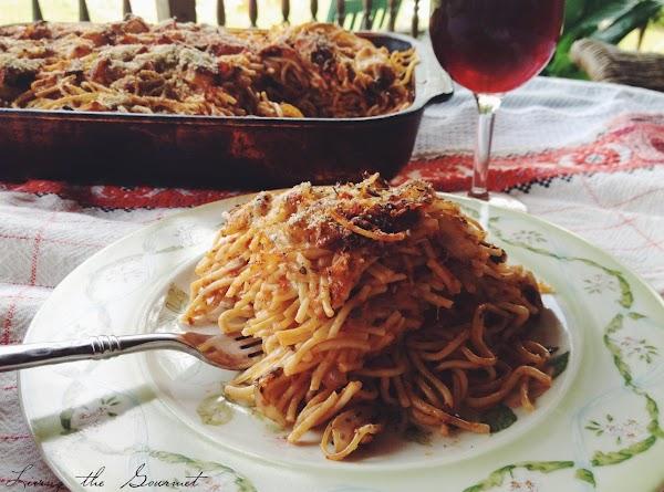 Zucchini And Spaghetti Lasagna Recipe