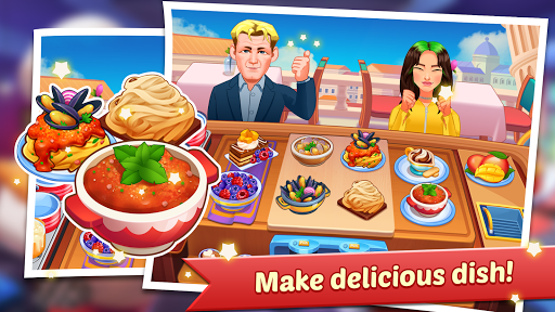 Code Triche Cooking Family : Craze Restaurant Food Game APK MOD screenshots 2