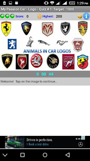My Passion Car- Logo Quiz Game 2.7 screenshots 1