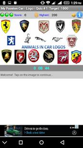 My Passion Car- Logo Quiz Game 1