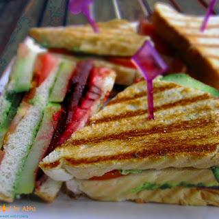 Triple Decker Bombay Sandwich.