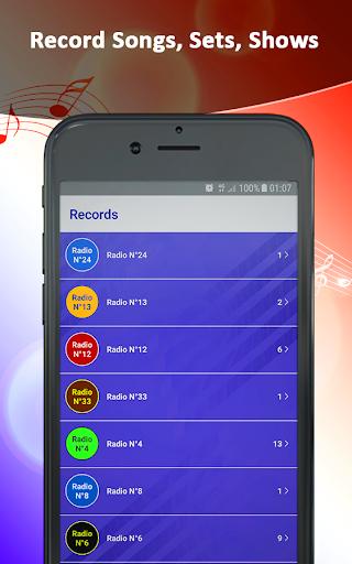 radios france live  | record, alarm& timer screenshot 3