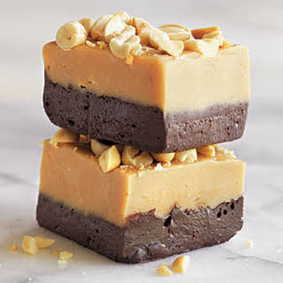 Peanut Butter and Dark Chocolate Fudge.