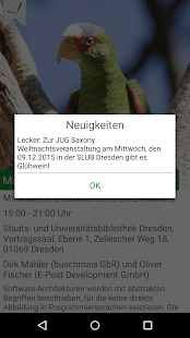 JUG Saxony App- screenshot thumbnail