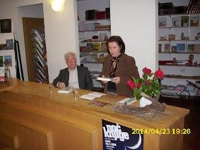 Photo: Predstavitev knjige Zločin brez kazni. Branko Soban in Neva Zajc v koprski knjigarni Libris. (Foto arhiv Libris)  http://www.primorske.si/Kultura/V-noc-s-prijateljico.aspx
