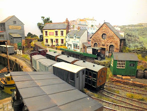 Photo: 011 Another view of Crackington Quay from the opposite side of the layout. Compact, yet spacious looking scenic modelling at its best .
