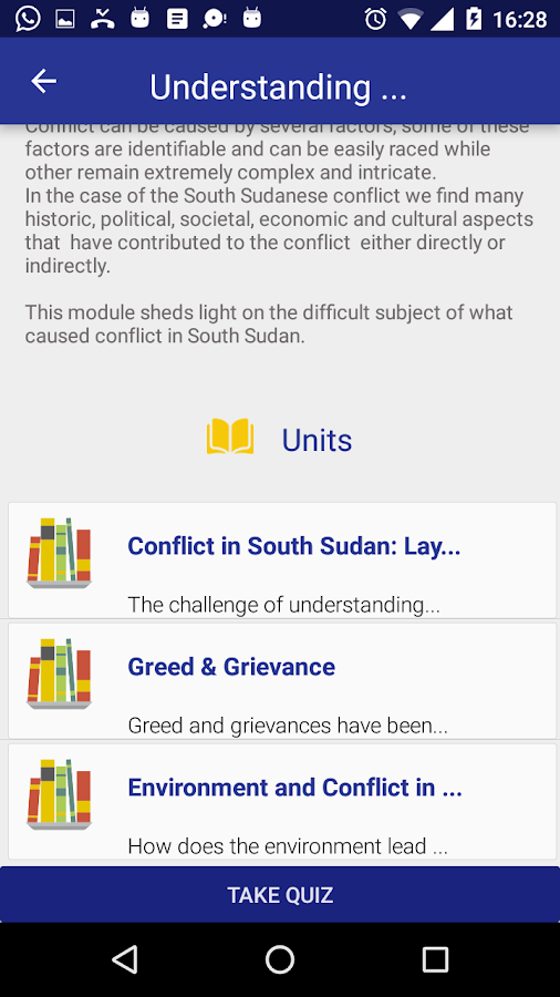 Peace App South Sudan- screenshot