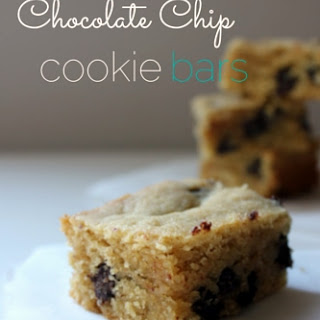 Chocolate Chip Cookie Bars.
