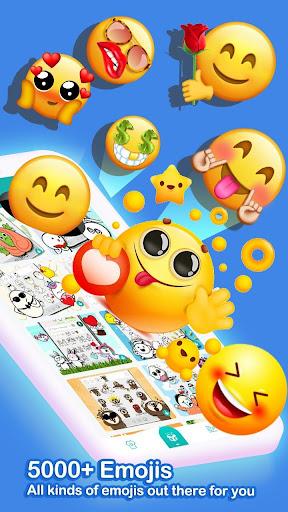 u2764ufe0fEmoji keyboard - Cute Emoticons, GIF, Stickers 3.4.2117 screenshots 1