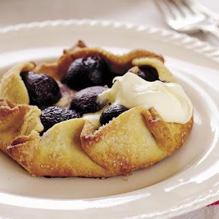 Sweet Almond and Cherry Tarts