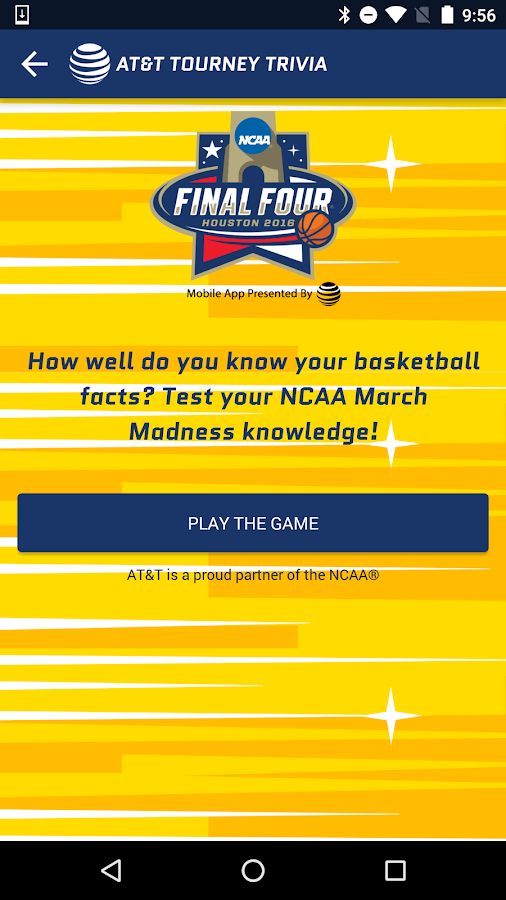 NCAA FINAL FOUR HOUSTON- screenshot