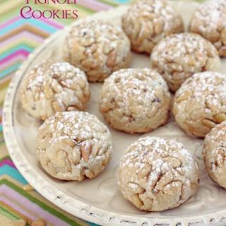 Italian Pignoli Cookies.