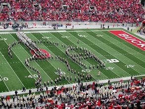 Photo: Michigan halftime tribute to Fantasia