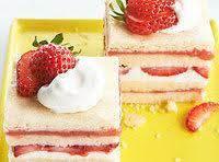 Strawberry Shortcake Ice Box Bars Recipe