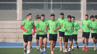 El Almería ha vuelto este martes al Anexo.