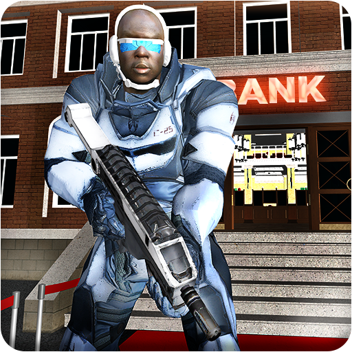 Mafia Bank Robbery Robot Battle City War Crime Sim