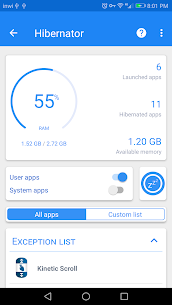 Hibernator apps & Save battery 2.7.6 Apk Cracked (Pro Unlocked) Latest Version Download 1