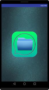 Waatsapp hidden file - náhled