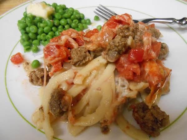 Layered Tomato Casserole Recipe