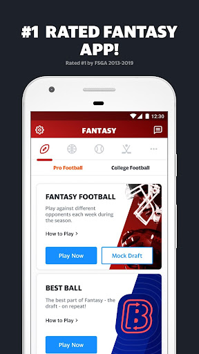 Yahoo Fantasy Sports screenshot 1