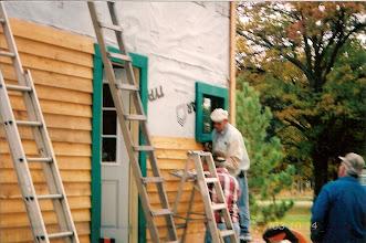 Photo: Cedar siding.