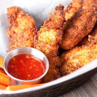 Spicy Chicken Strips.