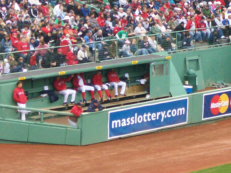 Photo: The Bullpen crew.. they had a good drum circle going.
