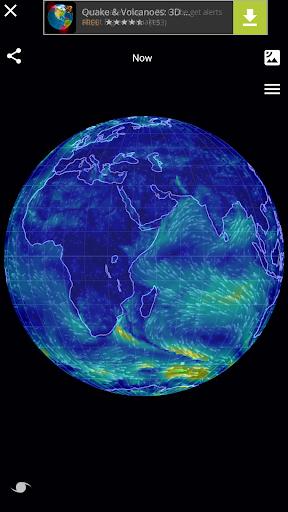 Wind Map ud83cudf2a Hurricane Tracker (3D Globe & Alerts) 2.2.9 Screenshots 1