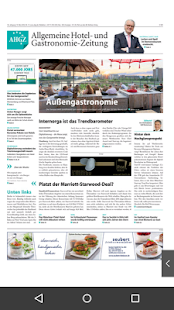 AHGZ Zeitungsapp- screenshot thumbnail