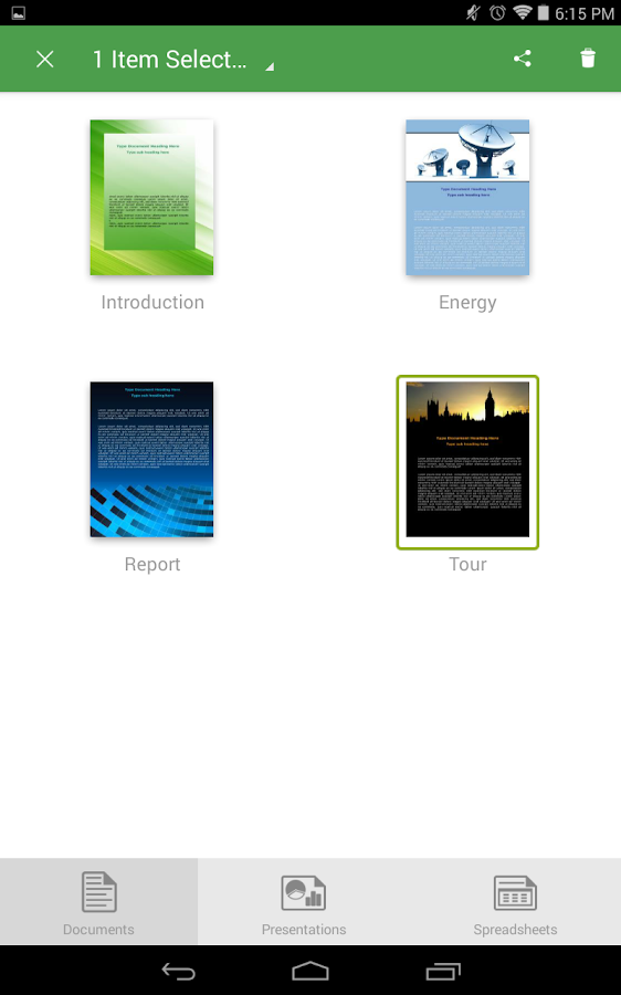 Screenshots of abDocs for iPhone