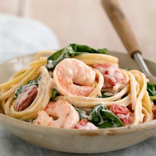Shrimp-in-Love Pasta.