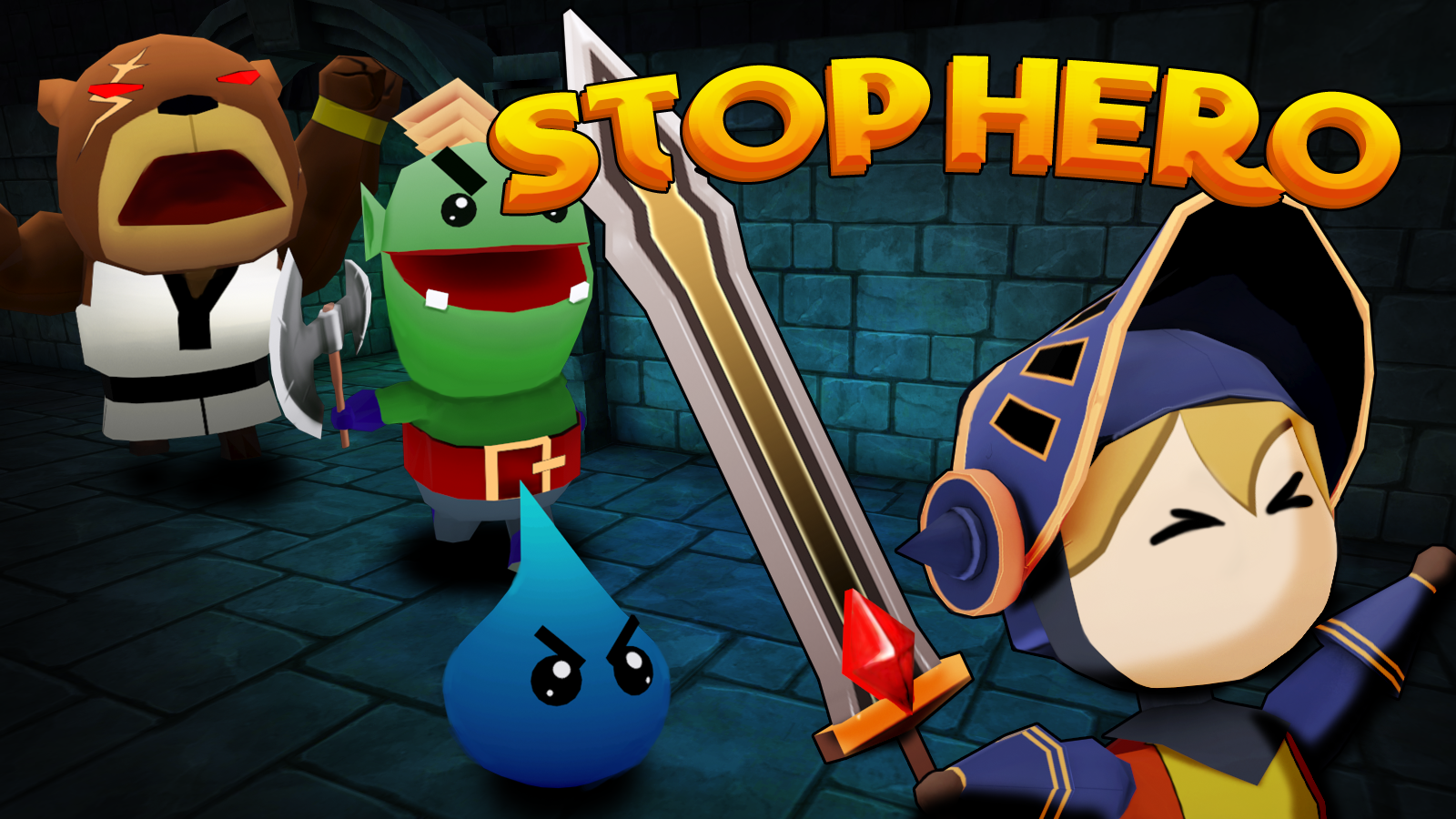 Stop Hero - One Button easy ending free game- screenshot