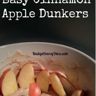 Easy Cinnamon Apple Dunkers