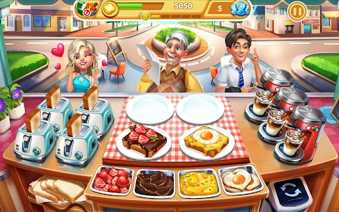 Cooking City: crazy chef' s restaurant game 9
