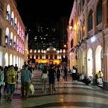 Senado Square at night at Macau in Macau, , Macau SAR