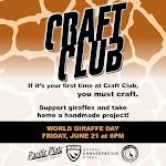 World Giraffe Day Craft Club