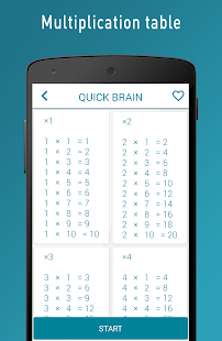 Quick Brain Mathematics - Exercises for the brain- screenshot thumbnail