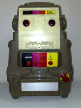 """Photo: My 2XL Robot from about 1981. """"Thank you for turning me on"""""""
