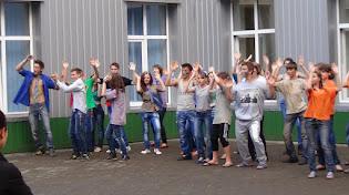 Святогірська ЗСШІ №12, старттинейджер, майданс у школі