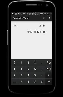 Converter Wear - screenshot