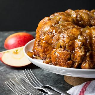 Gluten-Free Caramel Apple Monkey Bread