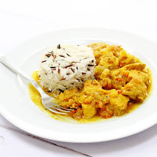 Chicken Curry with Pickling Spices.