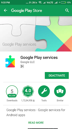 Play Services Update Latest screenshots 2